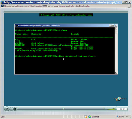How to Install Domain Controller Role on Server Core