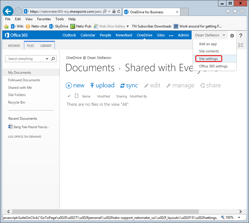 Just Confirmed – One TB of OneDrive Storage on Office 365 Account